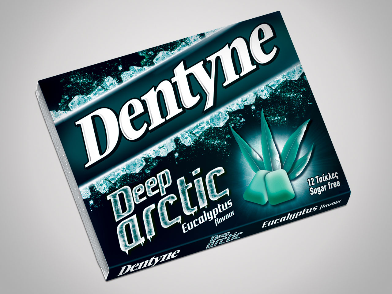 Dentyne Deep Arctic eucalyptus flavour