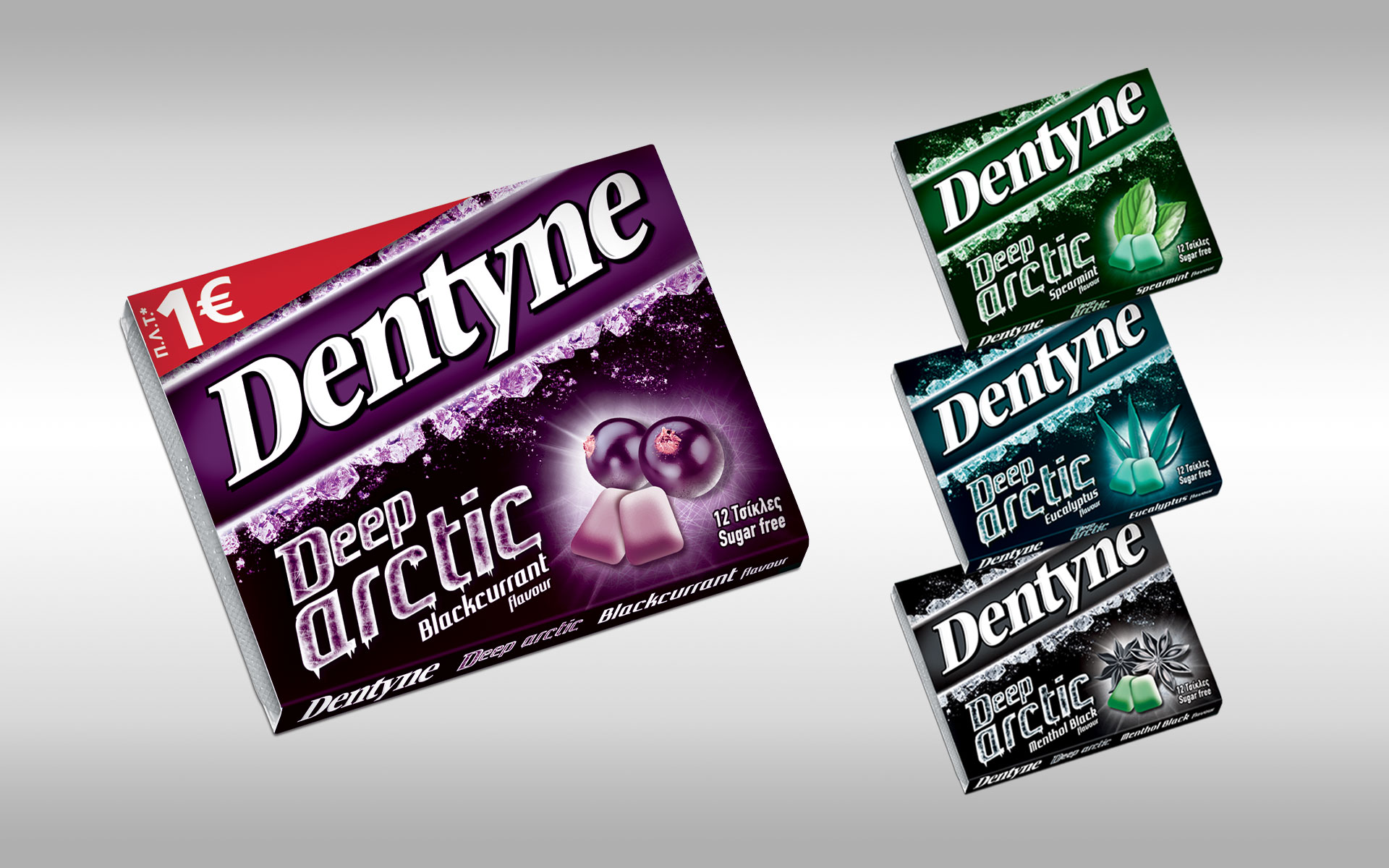 Dentyne Deep Arctic header image