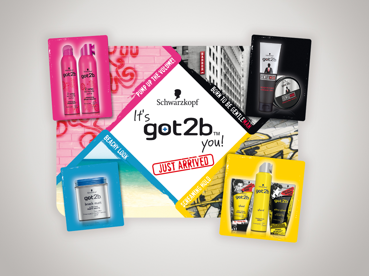 henkel, got2b, in-store promotion, market & trade
