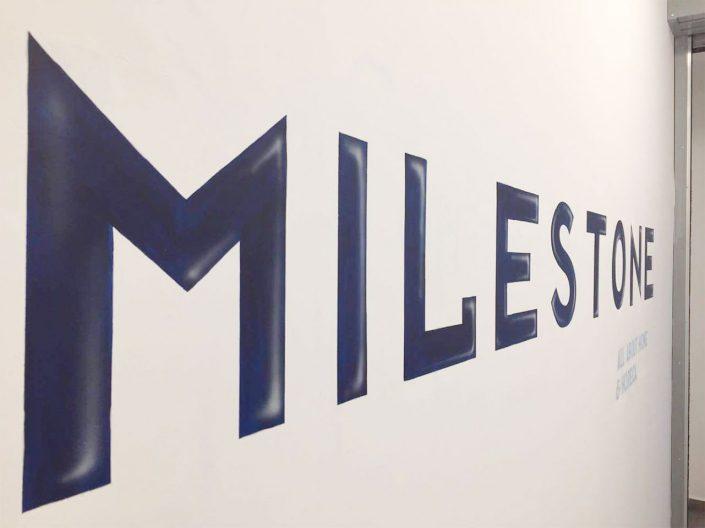 Milestone headquarters decoration photo