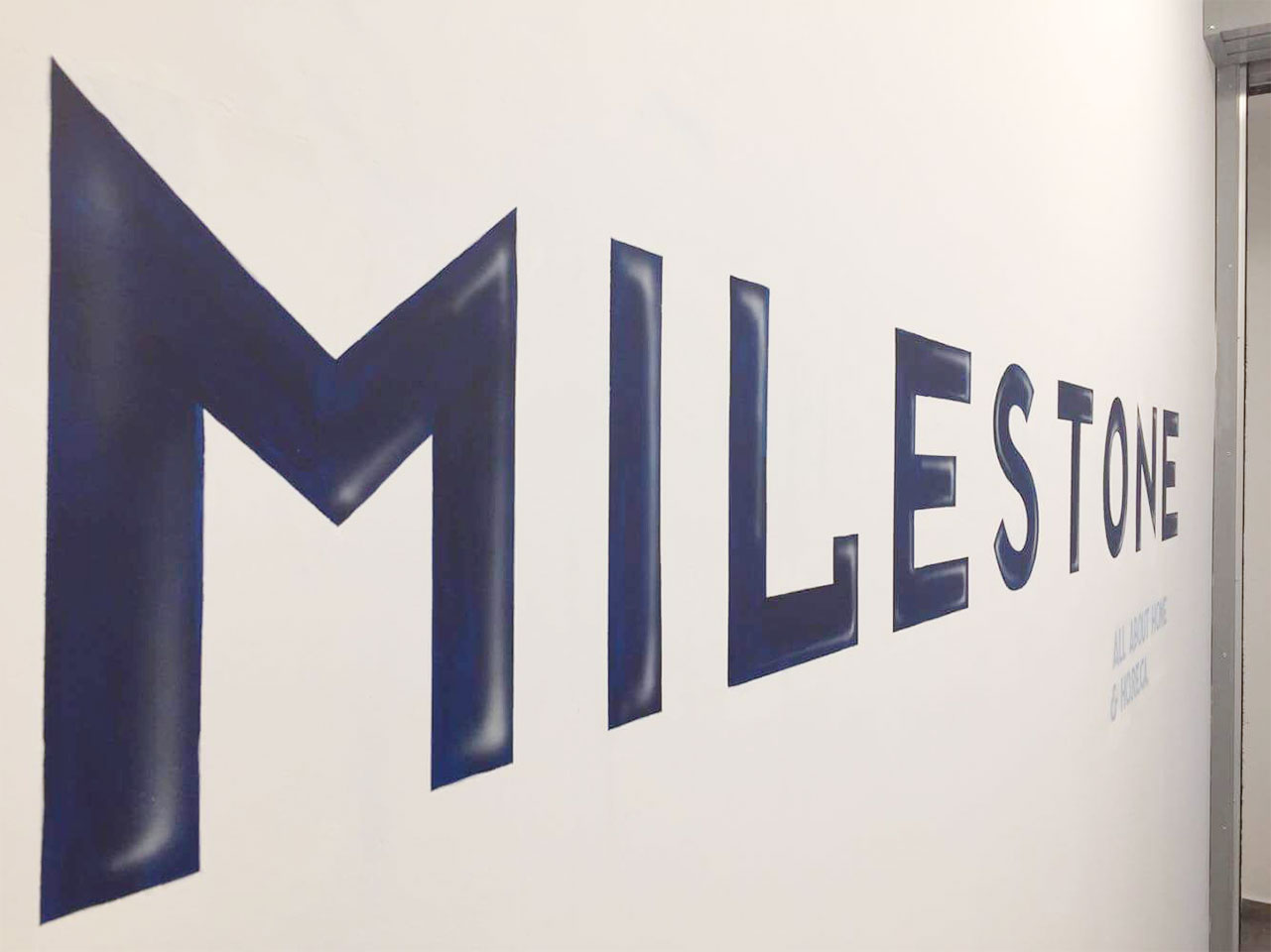 Milestone headquarters decoration photo