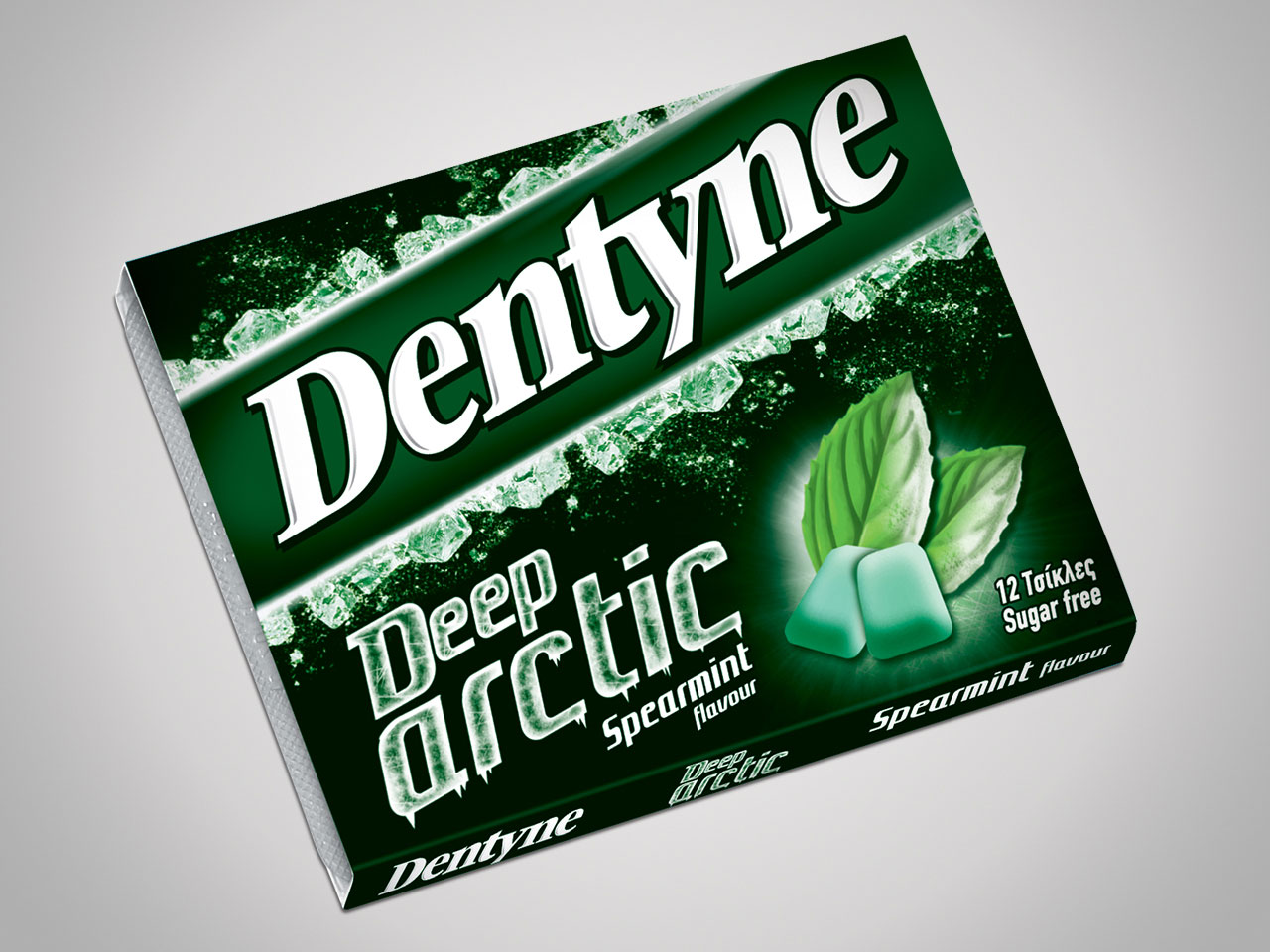 Dentyne Deep Arctic spearmint flavour